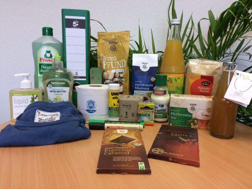 Verschiedene ökologische Lebensmittel. Foto: © Zukunft Einkaufen