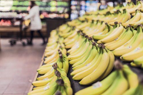 Bananen im Supermarkt. Foto: © CC0