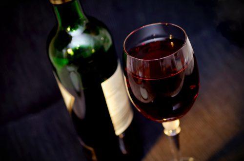 Ein Glas Rotwein. Foto: © CC0