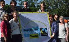 Foto der Fairtrade-Town-Steuerungsgruppe