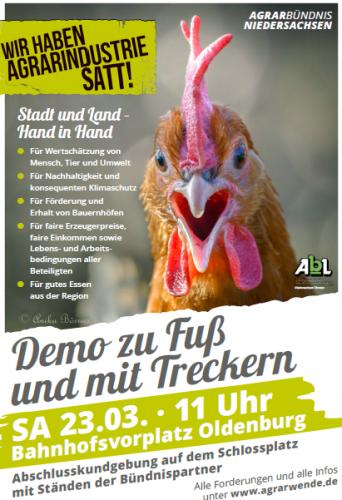 Plakat zu Agrarindustrie. Plakat: © Veranstalter