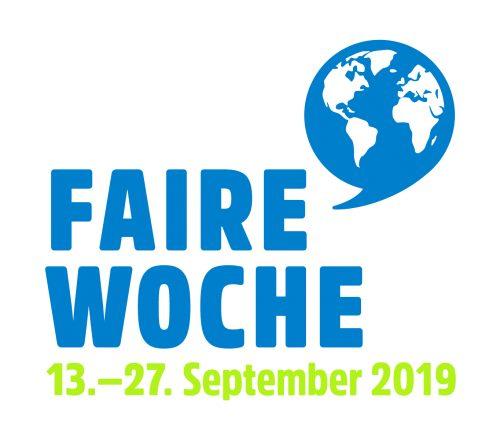 Logo Faire Woche 2019. Logo: © Forum Fairer Handel e.V.