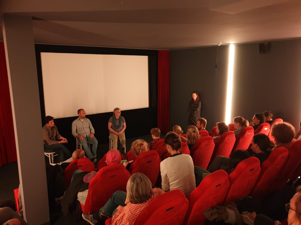 Menschen in einem Kinosaal. Foto: © privat