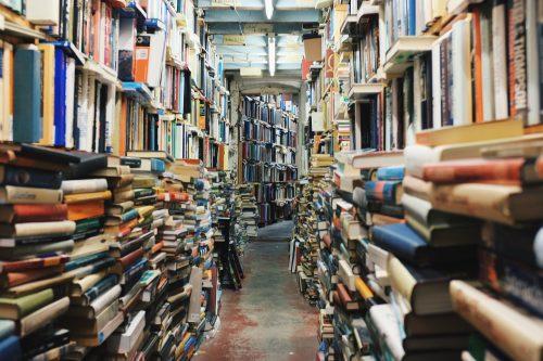 Bücher in Buchhandlung