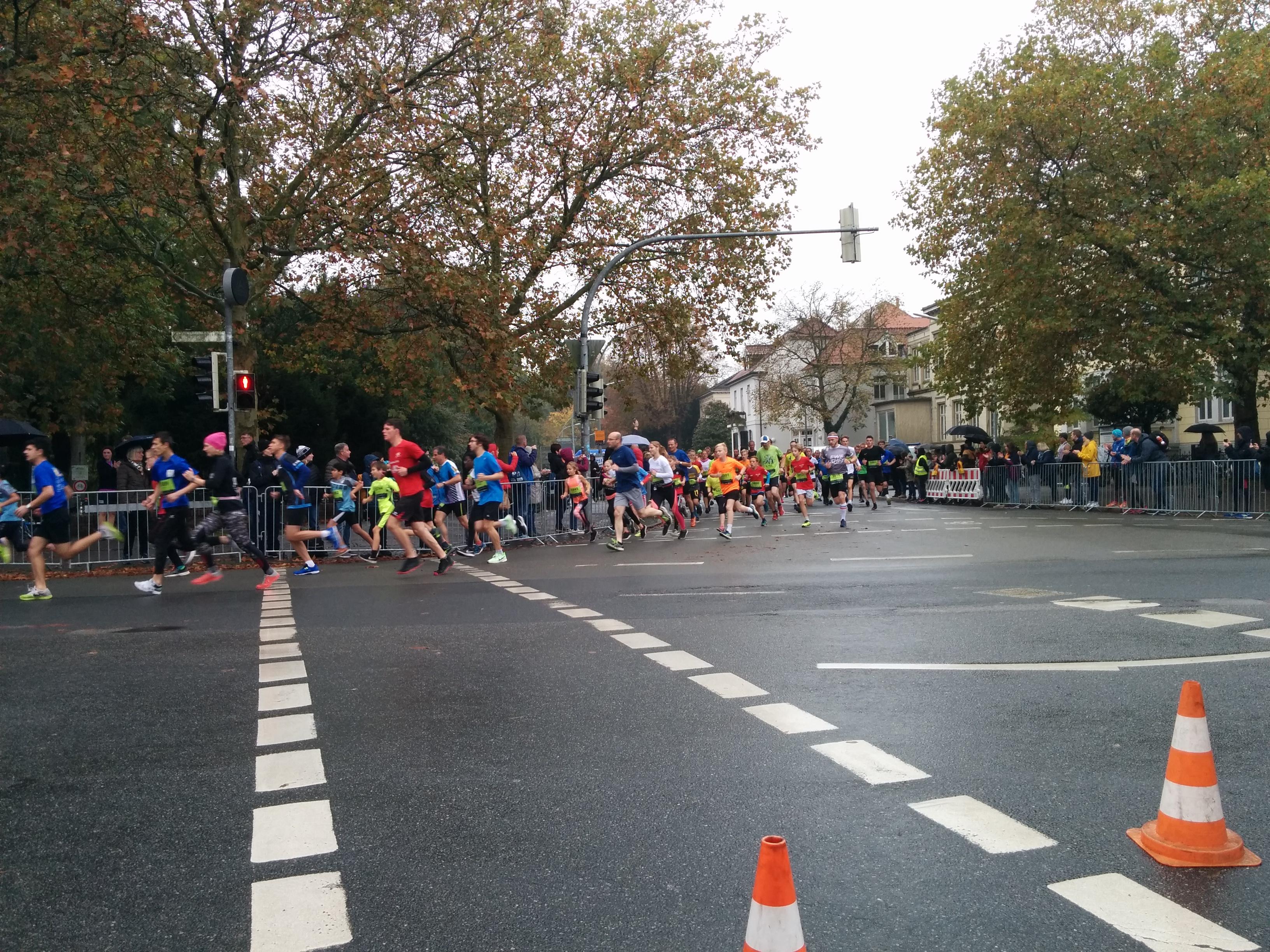 Läufergruppe von Oldenburg Marathon 2019