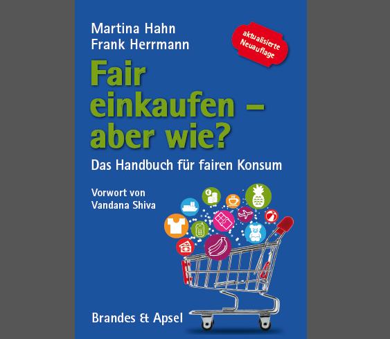 """Cover des Buchs """"Fair einkaufen - aber wie?"""""""