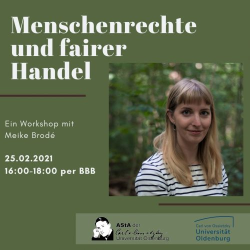 Flyer des Workshops