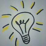 gezeichnete Glühbirne; Bild: © J. Mumme