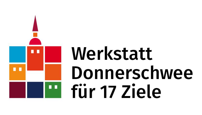 Logo für 17 Ziele der Wektstatt Donnerschwee. Logo: © Wektstatt Donnerschwee