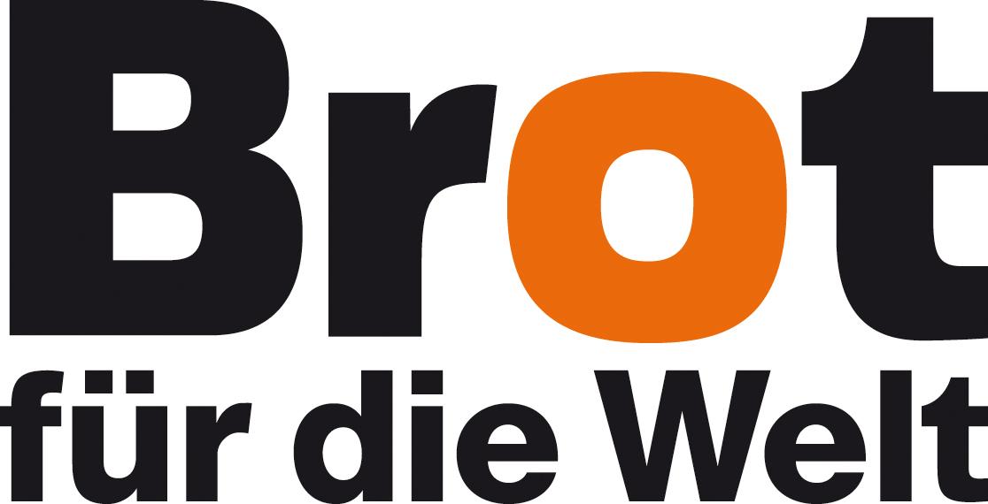 Logo Brot für die Welt- Würde für den Menschen. Logo: © BfdW