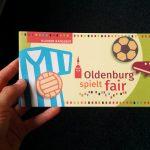 Flyer zum Thema Fairness im Sport